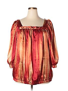Ashley Stewart 3/4 Sleeve Blouse Size 22 - 24 (Plus)