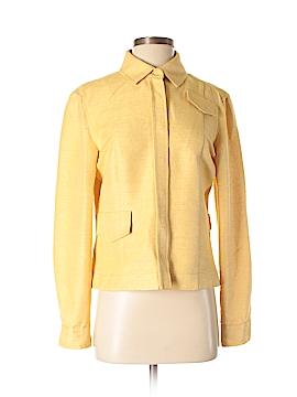 AKRIS Long Sleeve Silk Top Size 8