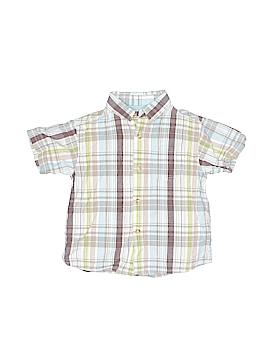 Arizona Jean Company Short Sleeve Button-Down Shirt Size 4T