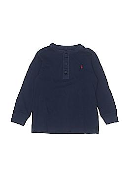 Polo by Ralph Lauren Long Sleeve Henley Size 4T - 4