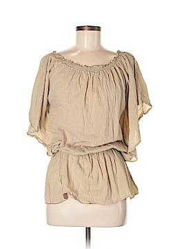 Debbie Katz Short Sleeve Blouse Size M