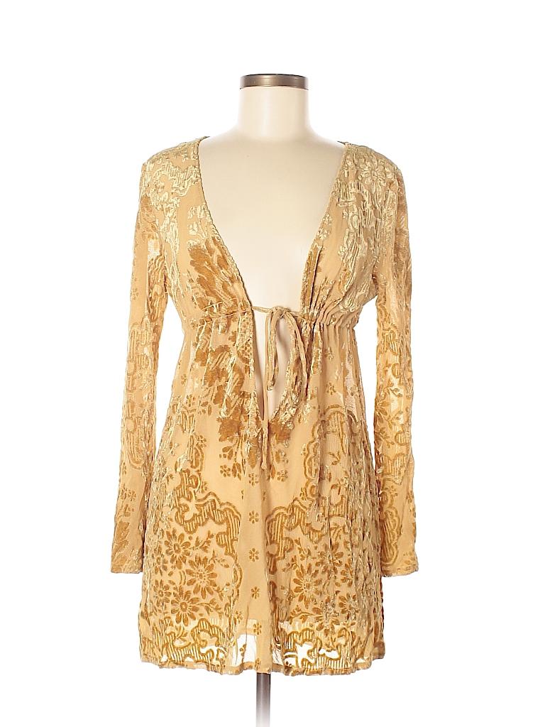 0760cf4af9489 La Perla Print Gold Swimsuit Cover Up Size 44 (IT) - 81% off   thredUP