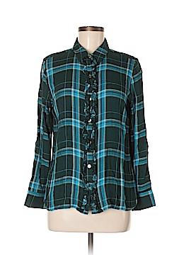 C. Wonder Long Sleeve Button-Down Shirt Size 8