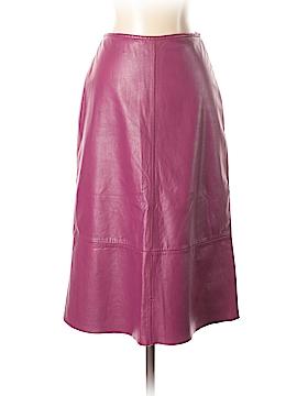 Banana Republic Leather Skirt Size 0