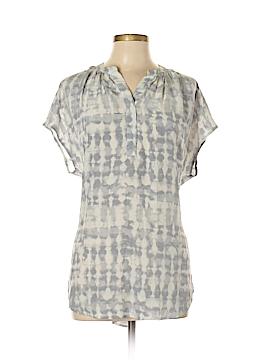 Cynthia Rowley for T.J. Maxx Short Sleeve Silk Top Size 1X (Plus)