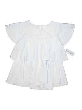 Cat & Jack Short Sleeve Blouse Size 14 - 16