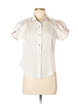 An Original Penguin by Munsingwear Short Sleeve Silk Top Size 3X (Plus)