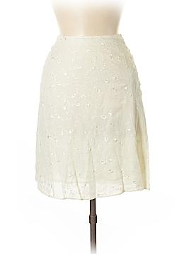 Lauren by Ralph Lauren Silk Skirt Size 12 (Petite)