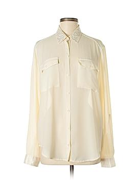 Abercrombie Long Sleeve Blouse Size L