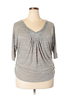 Lavish Short Sleeve Top Size 1X (Plus)