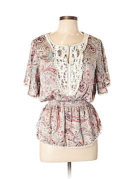 DressBarn Short Sleeve Blouse Size L