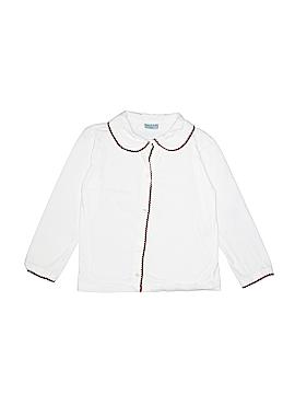 Papo d'Anjo Long Sleeve Button-Down Shirt Size 8