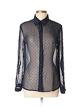 Lapis Long Sleeve Blouse Size L