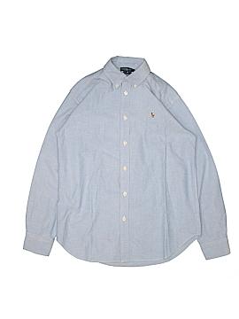 Ralph Lauren Long Sleeve Button-Down Shirt Size 16