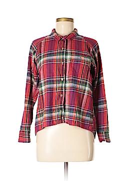BDG Long Sleeve Button-Down Shirt Size M