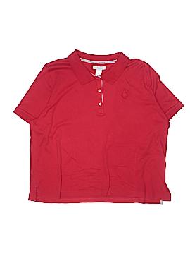 Lizwear by Liz Claiborne Short Sleeve Polo Size 2X (Plus)