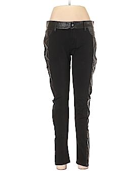 Bisou Bisou Faux Leather Pants Size 10