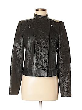 J Brand Leather Jacket Size M