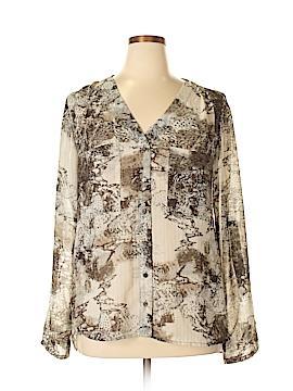 BKE Long Sleeve Blouse Size XL