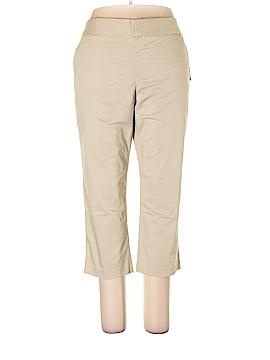 Daisy Fuentes Khakis Size 16