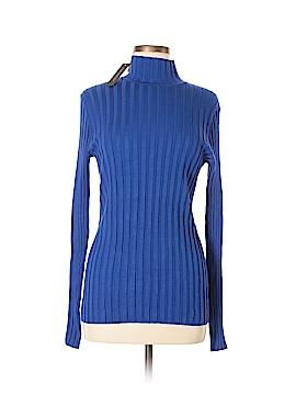 Cable & Gauge Turtleneck Sweater Size L