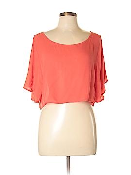 Stoosh Short Sleeve Blouse Size S