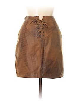 BB Dakota Leather Skirt Size 13