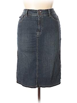 Bandolino Blu Denim Skirt Size 14
