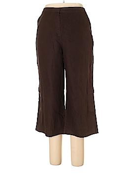 JM Collection Linen Pants Size 16 (Petite)