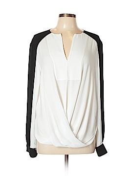 BCBGMAXAZRIA Long Sleeve Blouse Size L
