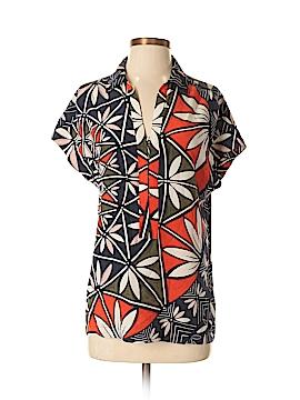 Tory Burch Short Sleeve Silk Top Size 0