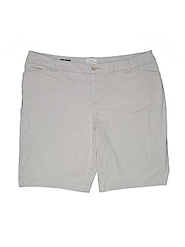 St. John's Bay Khaki Shorts Size 20 (Plus)