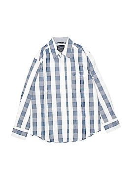 Nautica Long Sleeve Button-Down Shirt Size 8