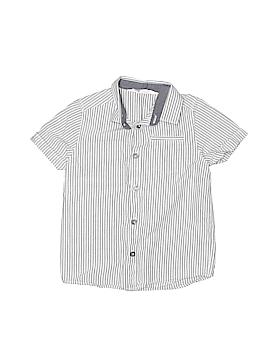 H&M Short Sleeve Button-Down Shirt Size 4T