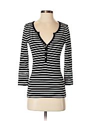 J. Crew Women 3/4 Sleeve Henley Size XS