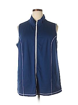 Quacker Factory Vest Size 1X (Plus)