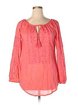 Nanette Lepore Long Sleeve Blouse Size L