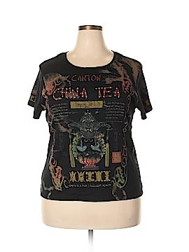 Susan Lawrence Short Sleeve T-Shirt Size 1X (Plus)