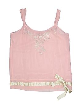 Thalia Sodi Sleeveless Silk Top Size S