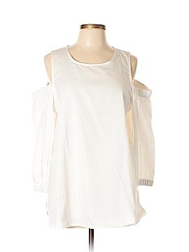 Calvin Klein Long Sleeve Blouse Size L