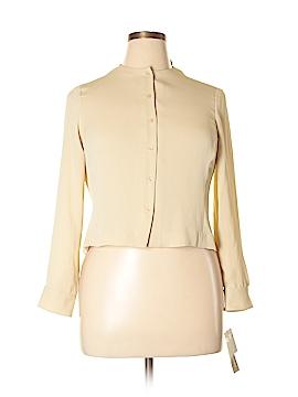 Jones New York Long Sleeve Blouse Size 14 (Petite)