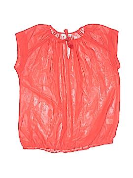 John Paul Richard Short Sleeve Blouse Size M