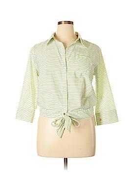 Liz Claiborne Long Sleeve Blouse Size 14