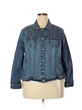 SONOMA life + style Denim Jacket Size 1X (Plus)