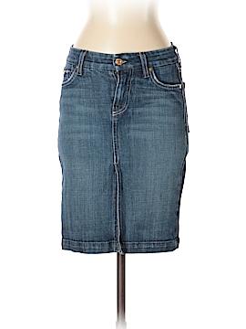 7 For All Mankind Denim Skirt 24 Waist