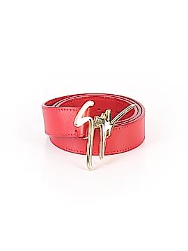 Giuseppe Zanotti Leather Belt Size 46 (IT)