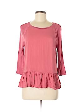 Ann Taylor LOFT Outlet 3/4 Sleeve Top Size M (Petite)