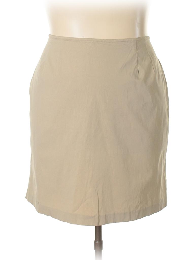 Venezia Women Casual Skirt Size 22 (Plus)