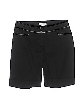 White House Black Market Khaki Shorts Size 6
