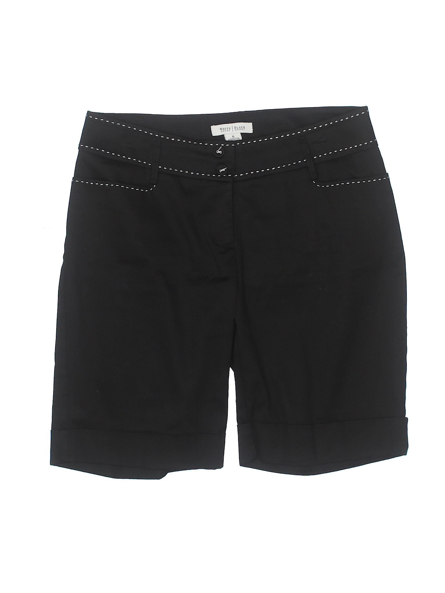 Market Khaki Black House Boutique White Shorts tIaqz18w